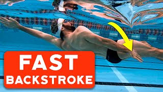 Backstroke swimming : Easy to learn, hard to master.