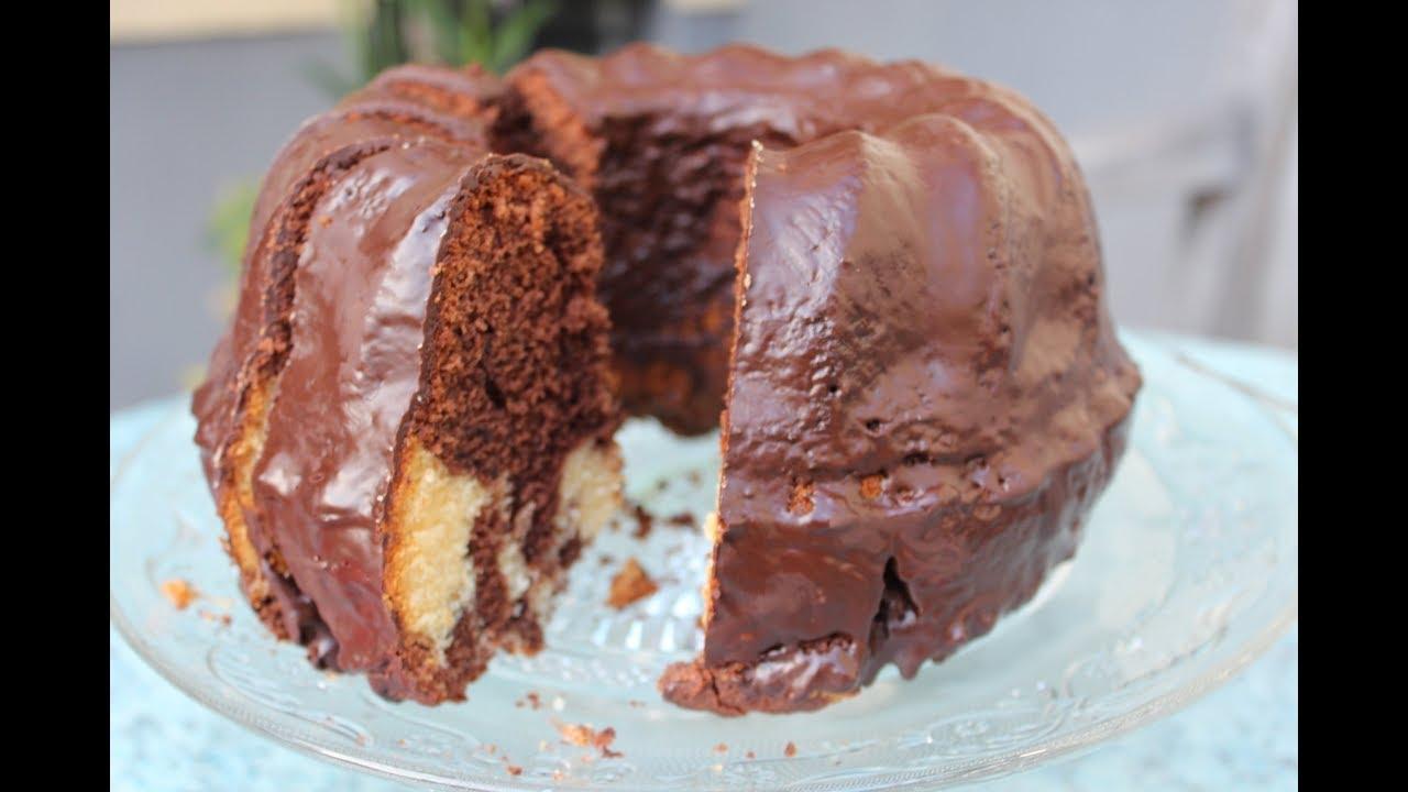 Saftiger Marmorkuchen Mit Eierlikor Und Nutella Youtube