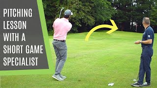 PITCHING TECHNIQUE LESSON FΟR FLIGHT AND DISTANCE CONTROL: HOW TO HIT PITCH SHOTS LIKE THE PRO