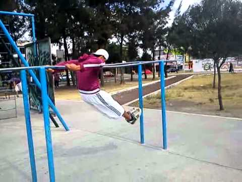 Barras paralelas callejeras dia de entrenamiento youtube - Barras de ejercicio para casa ...