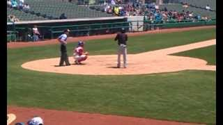 Billy Hamilton Reds Top Prospect Minor League Baseball Game