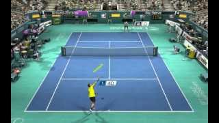 VirtuaTennis 4 Djokovic - Roddick ( US Open ).mp4