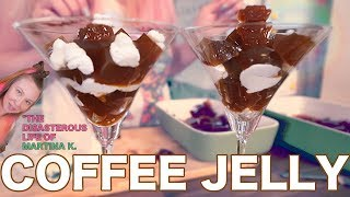 How To Make Coffee Jelly コーヒーゼリー