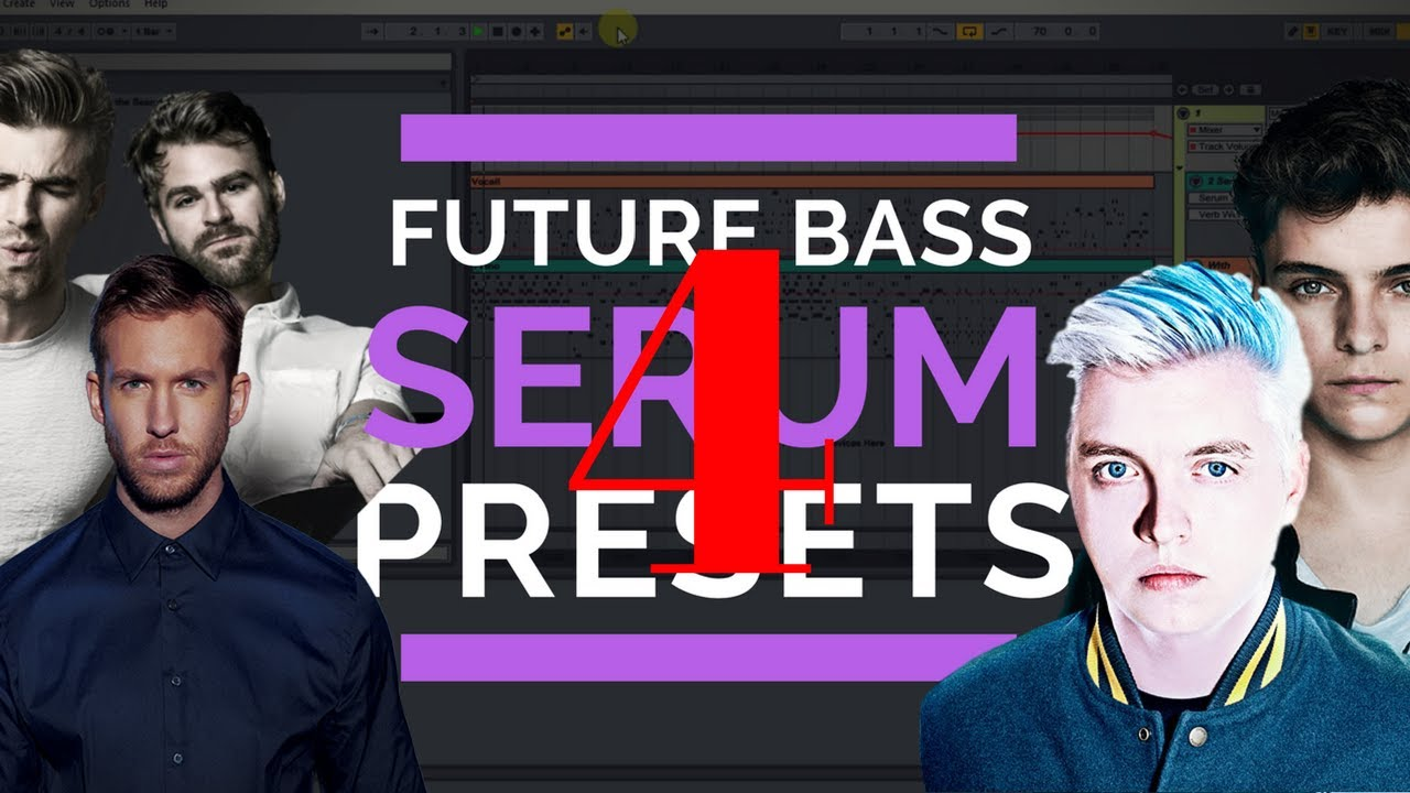 5 Future Bass Serum Presets Used By Chainsmokers & Other Big Artists (PART  4)