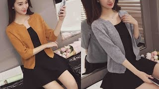 Long Sleeve Tops White Solid Female Slim Sweater Cardigan For Women Review