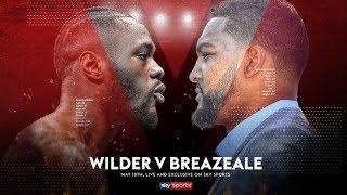 LIVE WEIGH-IN! Deontay Wilder vs Dominic Breazeale 👊