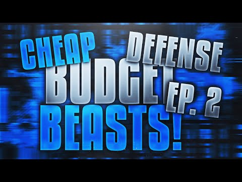 BEST CHEAP BUDGET BEAST PLAYERS ON DEFENSE in Madden Mobile 17!
