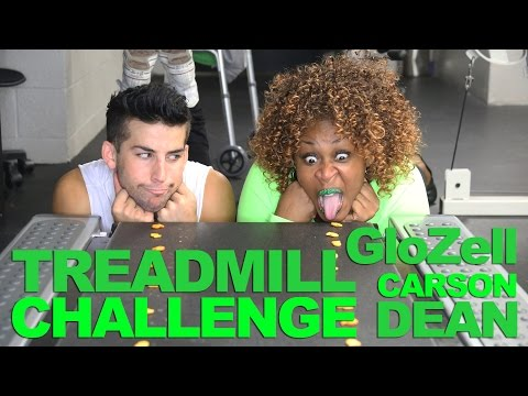 Your Morning Show - The Treadmill Challenge - For people who like to eat off the floor