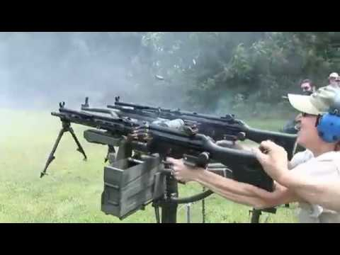 Family With Machine Guns In Virgina Gun Range Shoot! (Prodigy Aint Got Nuffin On Them)