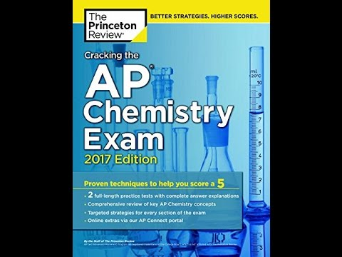 Pdf Cracking The Ap Chemistry Exam 2017 Edition College Test