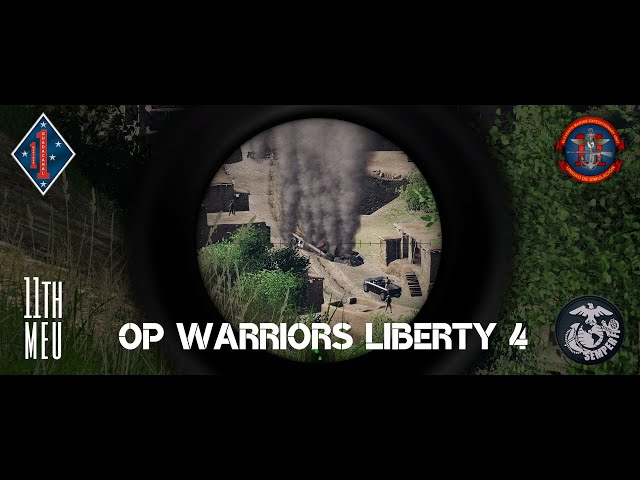 OP. Warriors Liberty 4 | 11thMEU | Arma 3