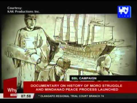 Documentary on history of Moro struggle and Mindanao peace p