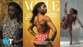 Vogue Under Fire Over Simone Biles' Cover Shoot