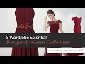 8 Wordrobe Essential Burgundy Gown Collection Amazon Gown Style Collection 2017