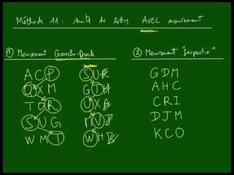 Logique - LETTRES - Méthode n°11 - Suites avec mouvement