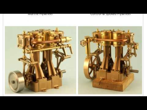 Miniature Steam Model Marine Steam Engines