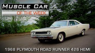 Muscle Car Of The Week Video Episode #157: 1968 Plymouth Road Runner 426 Hemi