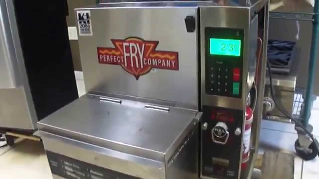 2012 Perfect Fry Pfa 7200 Ventless Hoodless Fryer For Sale