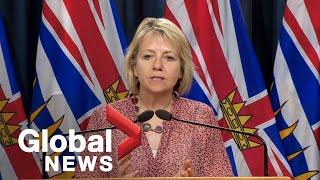 Coronavirus: B.C. officials report 29 new cases of COVID-19, no new deaths | FULL