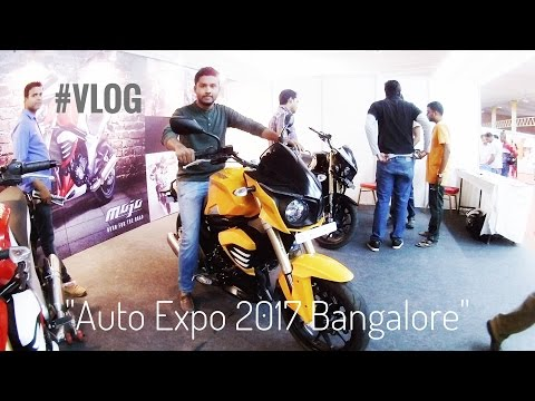 Auto Expo 2017 Bangalore   Vlog