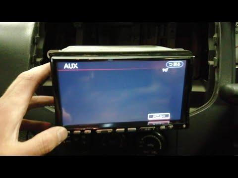 Подключение AUX NISSAN WINGROAD CLARION HC309D-A