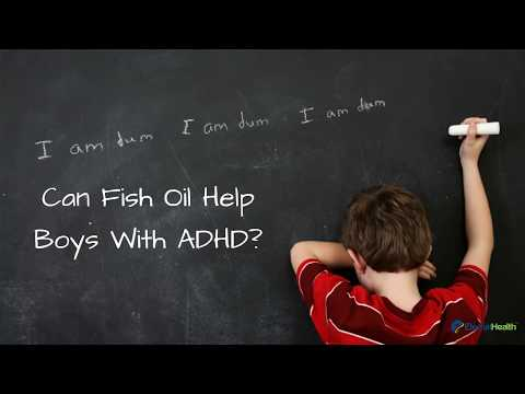 Can Fish Oil Help Boys with ADHD?