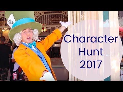 DISNEYLAND CHARACTER HUNT MARATHON 2017  