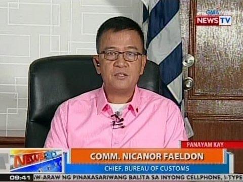 NTG: Panayam kay Comm. Nicanor Faeldon, chief, Bureau of Customs