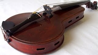 Rare old viola by Julius Zoller # 663
