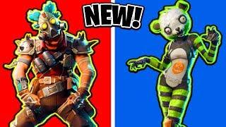 NEW Fortnite Skins! Spooky Team Leader, Shogun & More! (Ranking ALL Fortnite Skins)