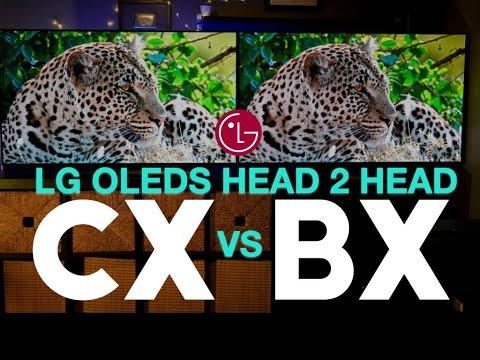 LG CX vs LG BX Battle of the LG OLEDs | Head 2 Head Comparison & Review