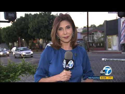 Armed man in beauty mask terrorizing LA neighborhood with robberies | ABC7