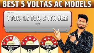 Best 5 Voltas AC Models 1 Ton 1 5 Ton 2 Ton 3 Star 4 Star 5 Star Prime TV Tech
