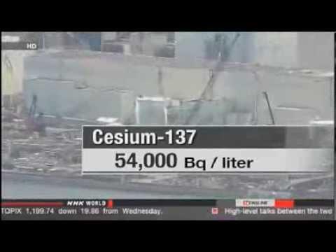 RECORD CESIUM LEVEL IN FUKUSHIMA PLANT GROUNDWATER, February 2014