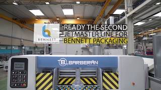 Video Ready the second Jetmaster Line for Bennett Packaging: 70 m/min printing speed!!! download MP3, 3GP, MP4, WEBM, AVI, FLV Juli 2018