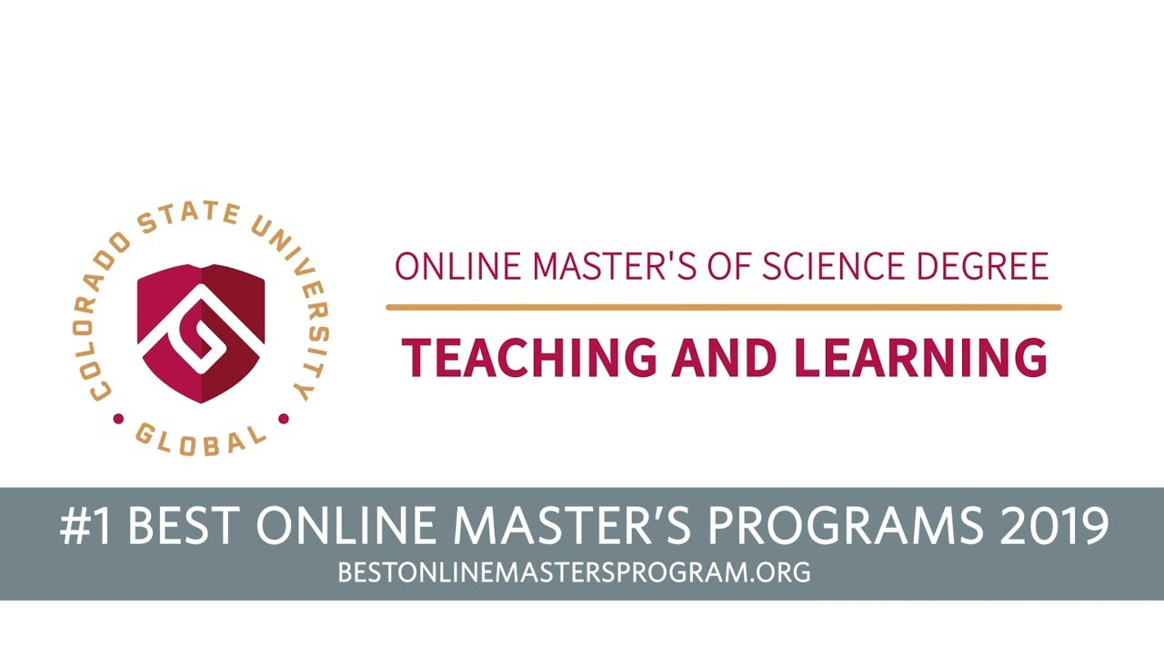 Online Master S Degree Program In Teaching And Learning Csu Global