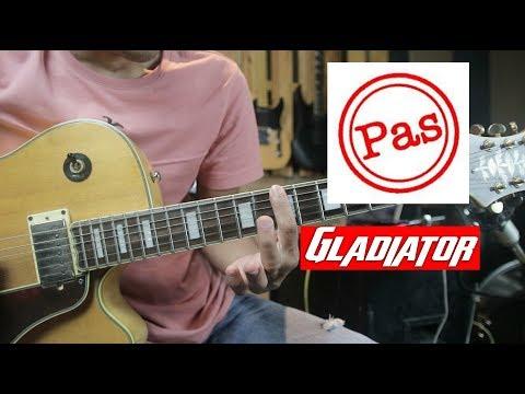 PAS Band Gladiator Tutorial Gitar Drop D