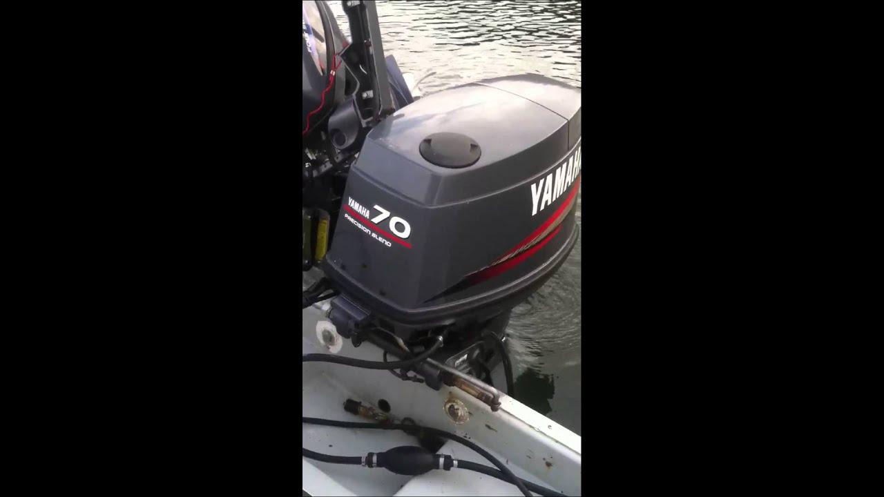 yamaha 70hp outboard. yamaha 70hp 2 stroke 2001. 4 200 outboard l