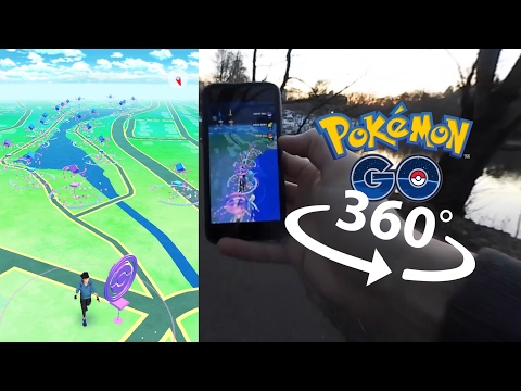 Pokémon GO Adventure in 360 VR - Gen 2 is here!