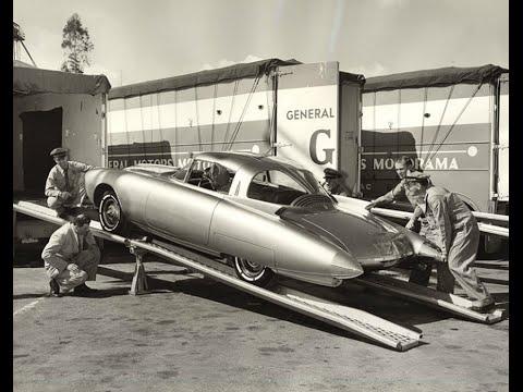 GM Motorama 1956 Dream Cars Of The Future Hit Miami