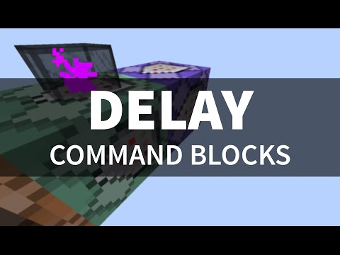 Delay Command Blocks - Map-Maker Module