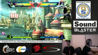 UMvC3 - Col. Filipino Champ Vs. MC. X-Ray (Casuals) 5/15/13 #1