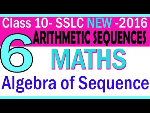 MATHS |free video. class 10 Kerala | PART 6- CHAPTER 1 -Algebra Of Sequences|NEW SYLLABUS | 2016 |