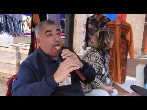 HD Armenian Artist Rendering Bollywood Tunes at the 30th SurajKund Mela 2016