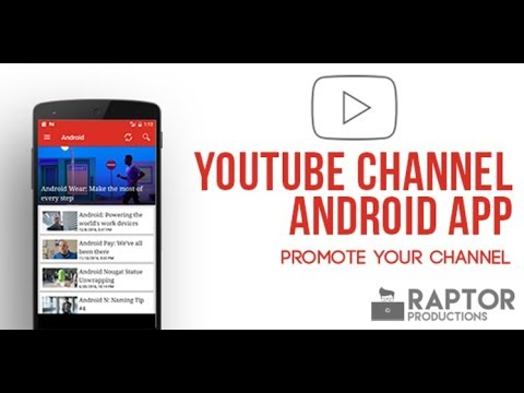 #1 - Make Android App for Youtube Channel and Monetize Your Channel