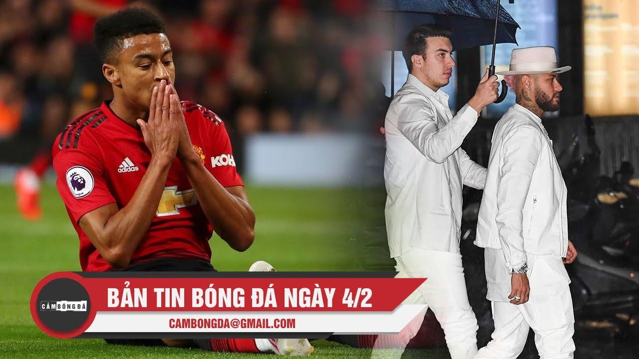 Bản tin Cảm Bóng Đá ngày 4/2 | Lingard ấn định ngày chia tay M.U, Neymar chấn thương dịp sinh nhật