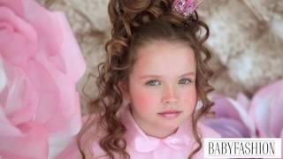 Центр детской моды BABYFASHION. Урок фотопозирования Принцессы. 3 часть