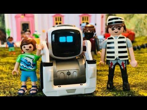Film PLAYMOBIL Mon ami Cozmo le robot est volé !!!