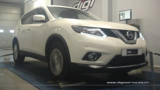 Nissan Xtrail 1.6 dci 130cv Reprogrammation Moteur @ 155cv Digiservices Paris 77 Dyno