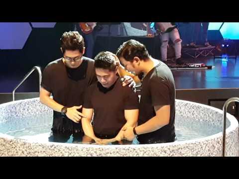 Water Baptism at Hope Church Singapore